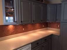 tile backsplashes for kitchens diy kitchen copper backsplash hometalk