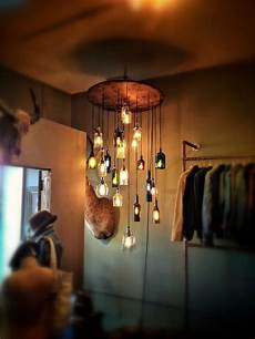 Diy Liquor Bottle Lights Diy Chandeliers That Will Light Up Your Day