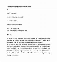 Decline Letter Free 8 Sample Letter Of Explanation In Pdf Ms Word