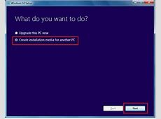 How To Create Windows 10 Bootable USB Using Media Creation