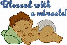 Miracle Baby Designs Miracle Baby Embroidery Design