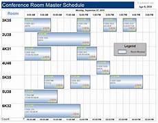 Conference Room Schedule Template Free Project Management Templates Aec Software