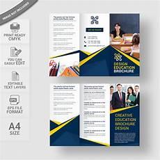 education brochure template free vector wisxi
