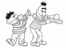burt and ernie coloring pages at getcolorings free