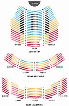Stern Theater Seating Chart Imperial Theater Seating Chart Ain T Too Proud Broadway