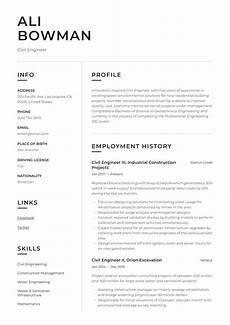 Sample Resume For Civil Site Engineer Civil Engineer Resume Amp Writing Guide 12 Resume