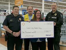 Walmart Asset Protection Walmart Donates 1 000 To Federal Way Safe City Program