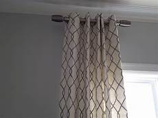 How To Hang Curtain Rods Curtain Rods Extend Your Window Design Solution