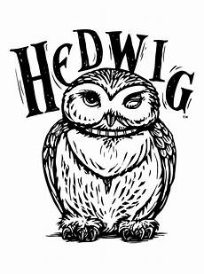 hedwig coloring page harry potter harry potter owl