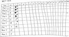 Baseball Scorecard How To Create A Baseball Scorecard Howtheyplay