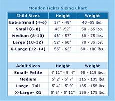 Tights Size Chart Best Buy Figure Skating Mondor Tights Sizing Chart