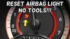 Fiat Punto Airbag Warning Light Stays On How To Reset Airbag Light No Tools Required Dodge Chrysler