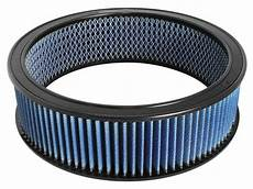 Round Air Filter Size Chart Stock Replacement And Universal Performance Air Filters