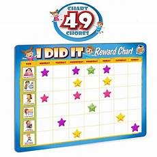 To Do Chart For Toddlers Kids Chart Reward Chores Educational Magnetic Motivational