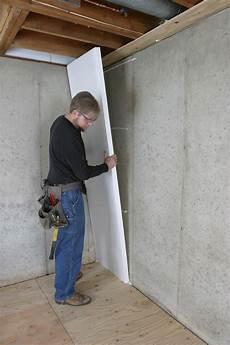 Insulating Concrete Block Walls How To Insulate A Basement Wall Greenbuildingadvisor