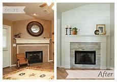 fireplace makeover guest post it in the mountains