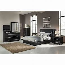 Value City Bedroom Sets Dimora 7 Upholstered Bedroom Set With Media
