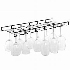 stemware wine glasses hanger organizer holder rack wire