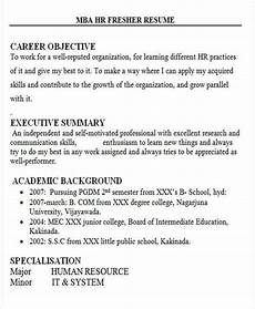 Resume Objective For Freshers 28 Free Fresher Resume Templates Free Amp Premium Templates