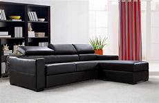 flip reversible espresso leather sectional sofa bed w storage