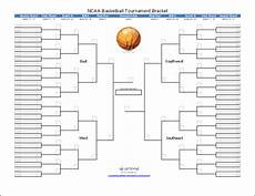 Tournament Table Template Tournament Bracket Templates For Excel 2020 March