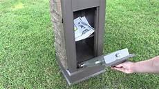 Business Mailbox Postal Vault Secure Locking Mailbox Youtube
