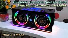 Boombox Led Lights Bluetooth Boombox Speaker Build With Music Reactive Led