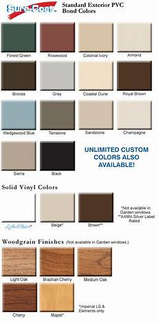 Jeld Wen Vinyl Window Color Chart Colored And Brown Vinyl Windows Window Color Choices