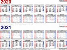 2020 16 Year Calendar 2020 2021 Two Year Calendar Free Printable Microsoft