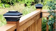 Trex Deck Post Solar Lights Post Caps Decksdirect