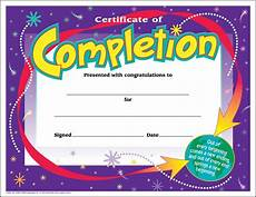 Certification Of Completion Template 30 Certificates Of Completion Large Certificate Award