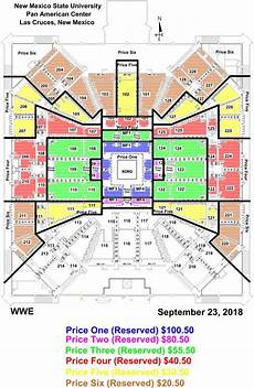 las cruces card update for wwe live experience pan am