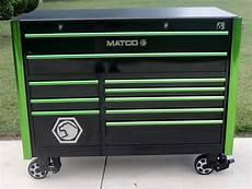 matco tools 6228rx 6s black green trim shop