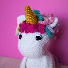 free crochet unicorn pattern thefriendlyredfox