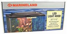 Fish Tank Light Replacement Parts Marineland Marineland Led Aquarium Light Hood Lighting