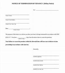 Printable 30 Day Notice To Landlord 38 Eviction Notice Templates Pdf Google Docs Ms Word