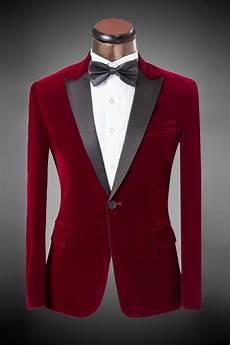 Red S Custom Design 2017 Suit Pant 2016 New Design Men S Suit Bordeaux Velvet