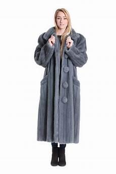 buy mink coat gray blue fur coat genuine fur at