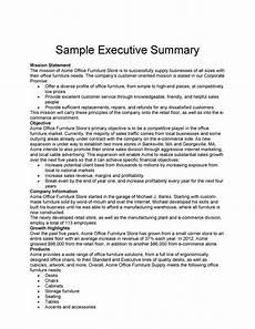 Sample Executive Summary Template 30 Perfect Executive Summary Examples Amp Templates ᐅ