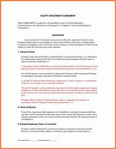 Sample Investor Agreement 4 Investment Contract Marital Settlements Information