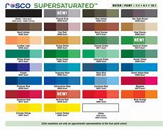 Rosco Color Chart Scenic Paint Color Your World Pdxpendables
