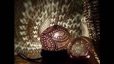 Coconut Shell Lights Diy Beautiful Coconut Shell Lamp Shade Youtube
