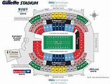Gillette Stadium Soccer Seating Chart Patriots Seating Chart Gillette Stadium