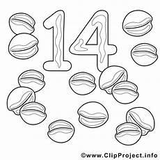 Ausmalbilder Zahlen Lernen Zahl 14 Nuesse Malvorlage Zahlen Lernen