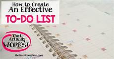 Make An Online List How To Create An Effective To Do List That Actually Works