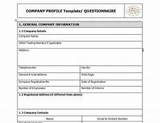 Company Profile Format In Word Free Download Download Free Company Profile Templates Word Pdf