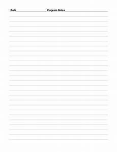 Patient Note Template Patient Progress Notes
