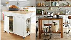 6 Portable Kitchen Islands To Solve Your Small Kitchen Woes These 10 Portable Islands Work In Your Kitchen