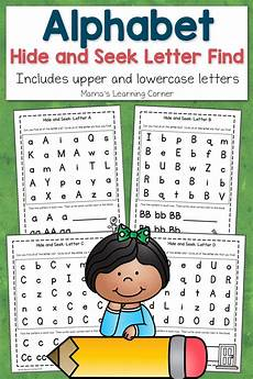 Letter And Abc Hide And Seek Letter Find For Preschoolers Mamas