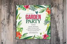 Garden Party Invites Summer Garden Party Invitation Invitation Templates